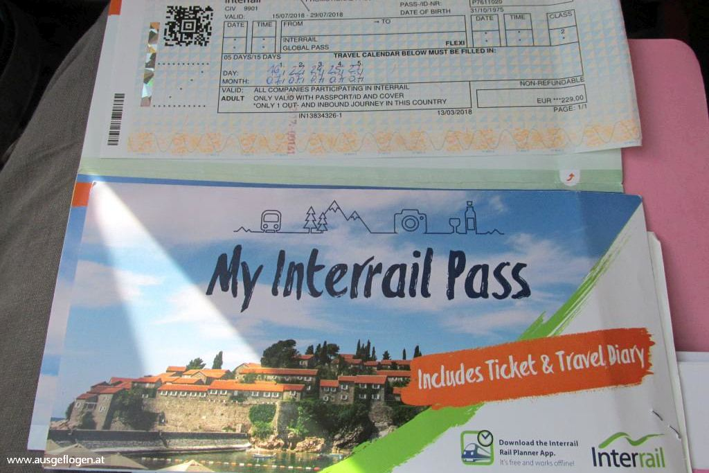 Interrail mit Kind