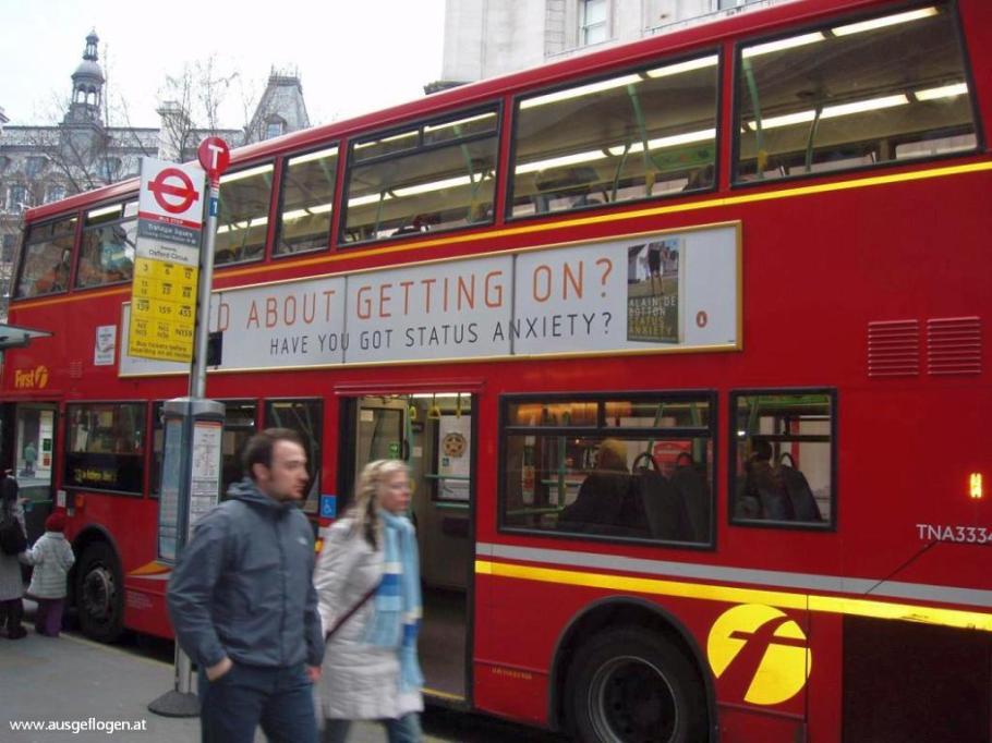 London mit Kindern Doppeldecker Busse