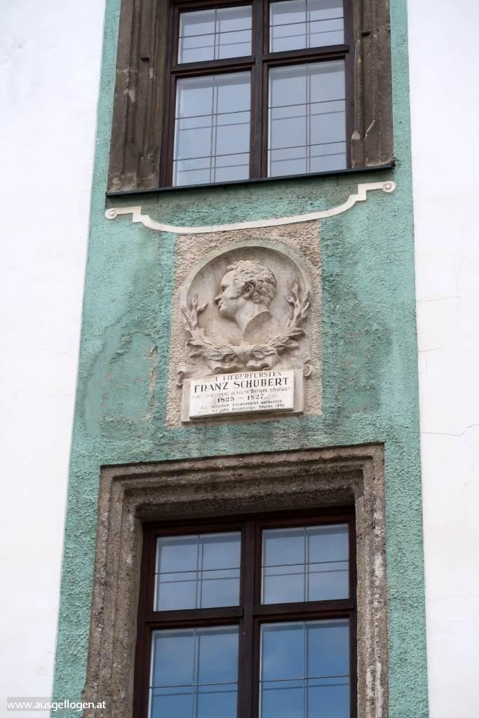 Anton Bruckner in Steyr Sehenswürdigkeiten