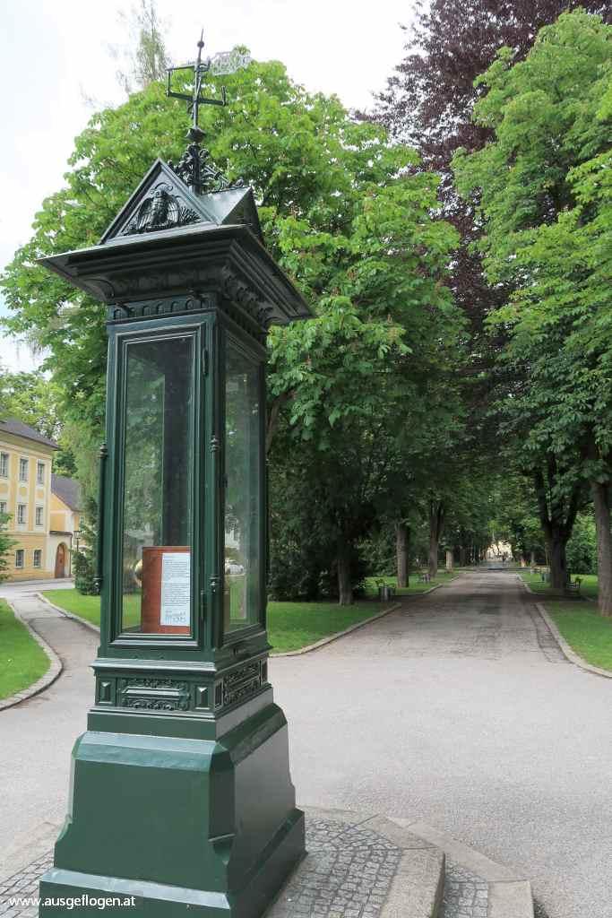 Schlosspark Lamberg Wetterhäuschen