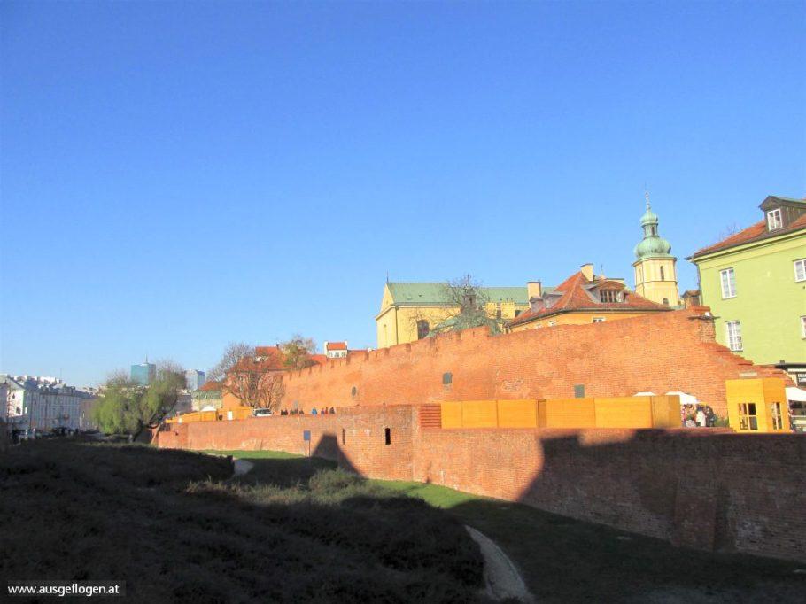 Warschau Barbakan
