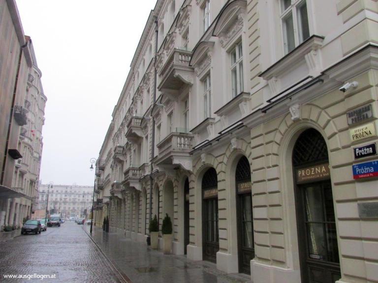Warschau Ghetto alte Straßen