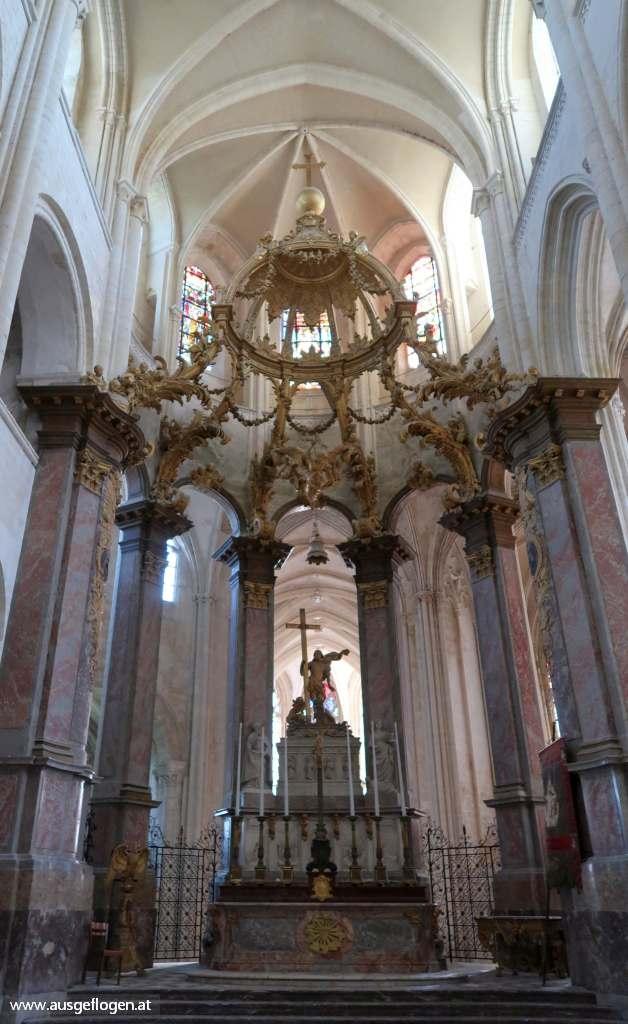 Fecamp Abtei Abbatiale de la Sainte-Trinité
