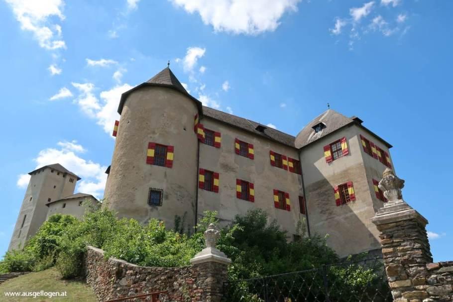 Burg Lockenhaus Sehenswürdigkeit Burgenland