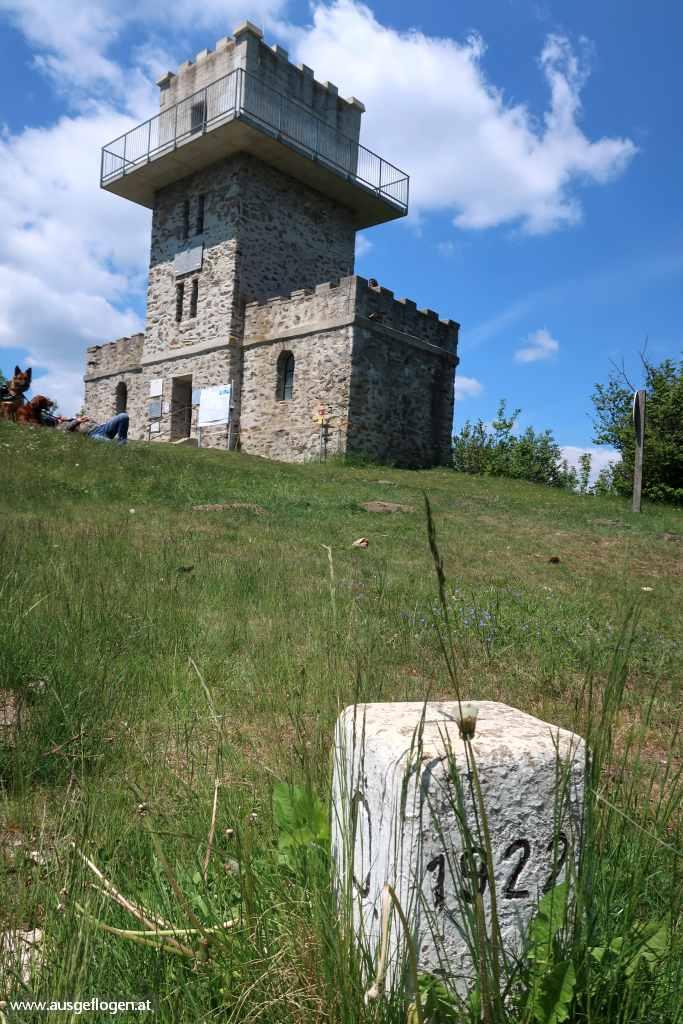 Geschriebenstein Aussichtswarte Grenze Ungarn