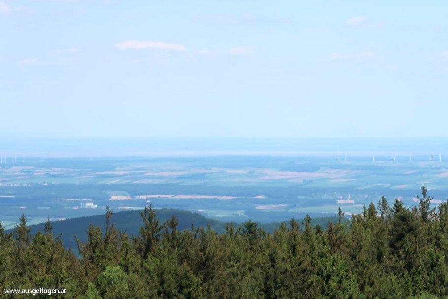 Geschriebenstein Aussichtturm Fernblick