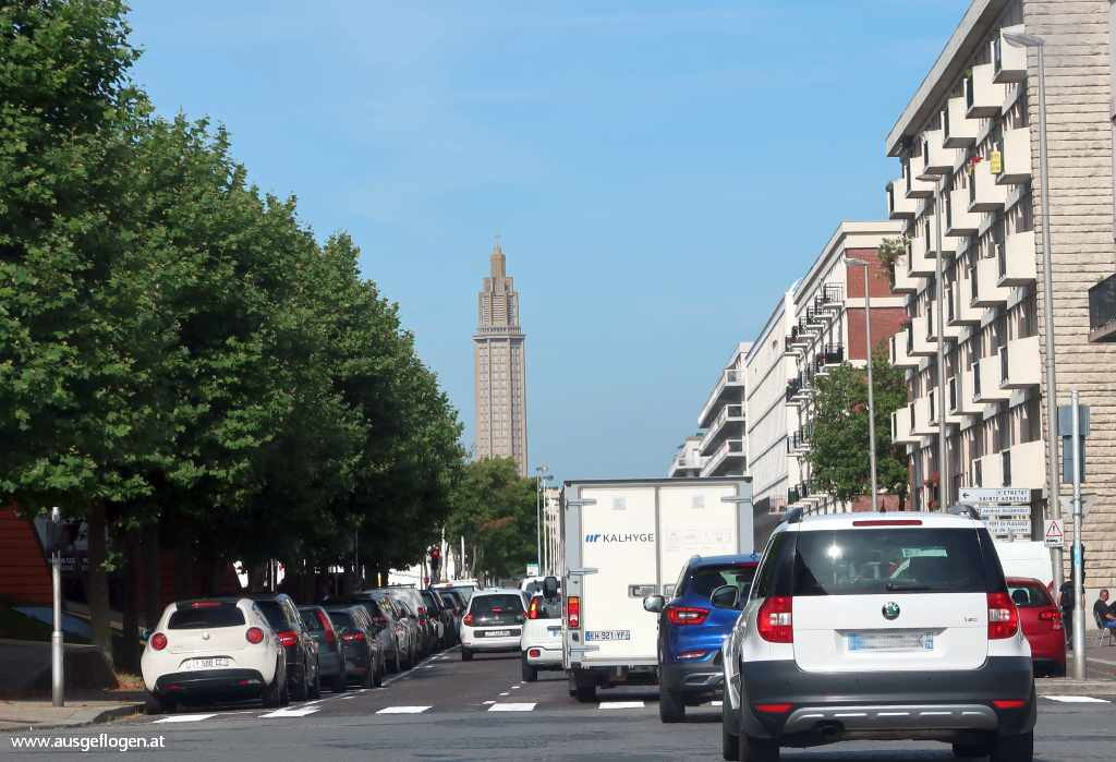 Le Havre Sichtachse St. Joseph