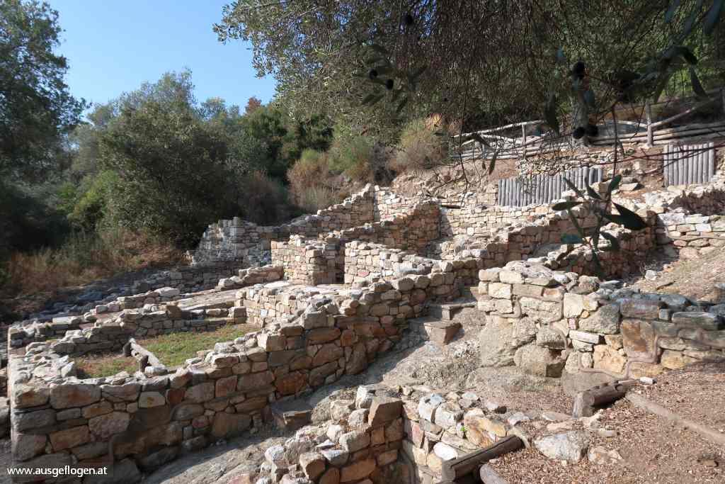 antike Stadt Stágeira