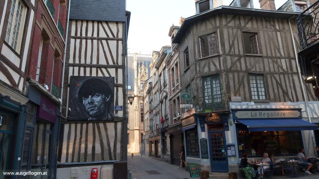 Rouen Normandie Altstadt