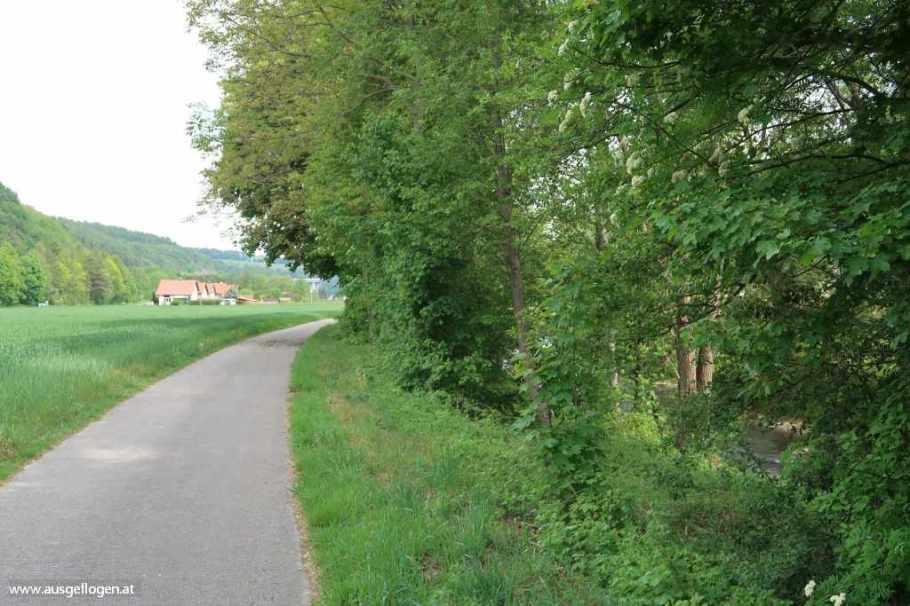 Thermenradweg Aspang Eurovelo 9