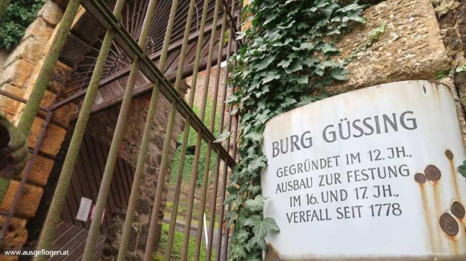 Burgruine Güssing