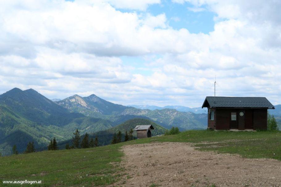Wanderung Mariazell Bürgeralpe Weg