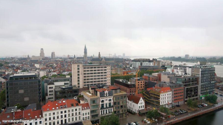 Antwerpen Städtetrip Sehenswürdigkeiten MAS Aussichtsplattform