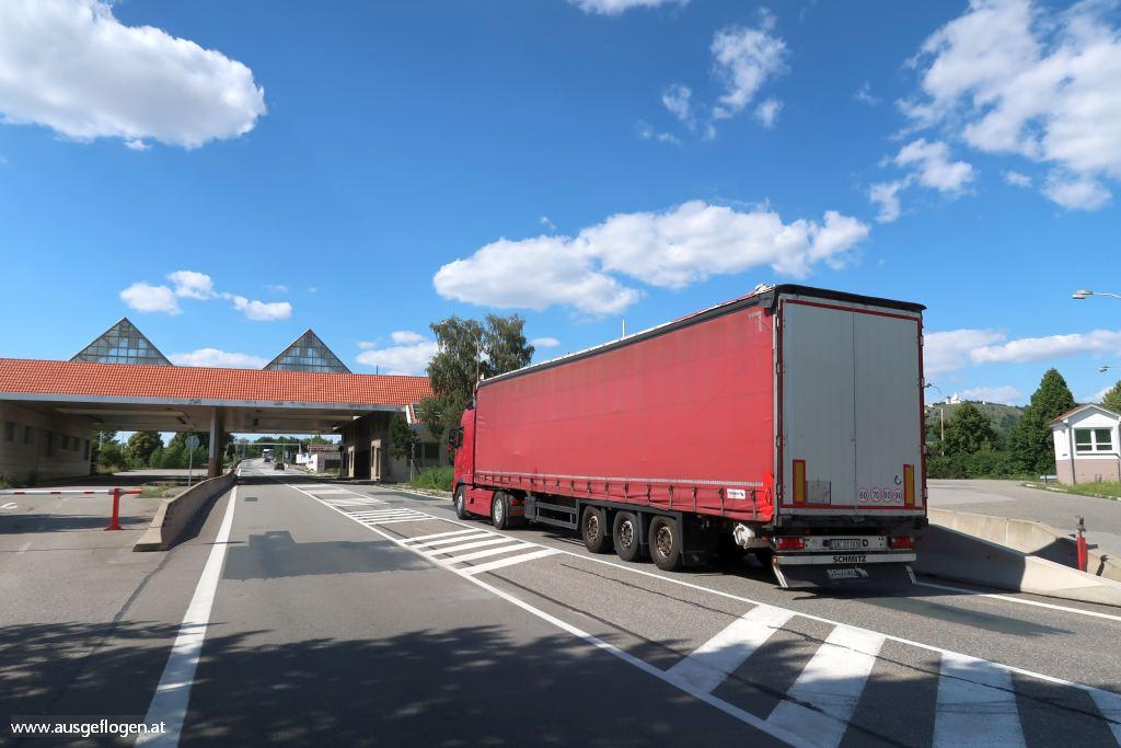 Grenzübergang Drasenhofen