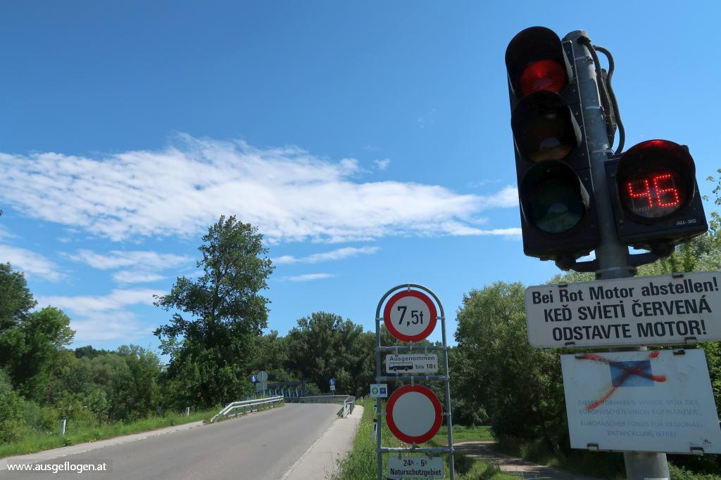 Grenzübergang Brücke Hohenau
