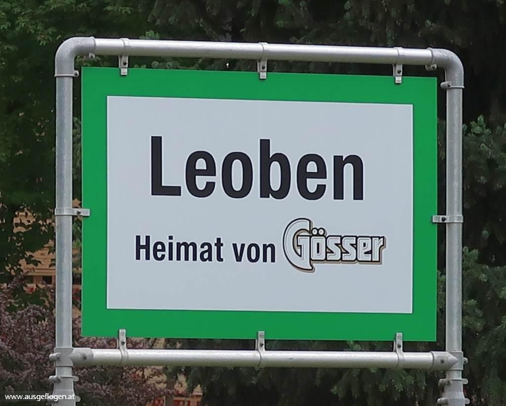 Leoben Ortsschild