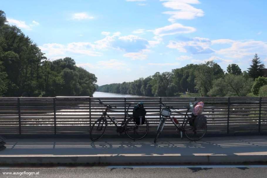 Murbrücke Bad Radkersburg Murradweg