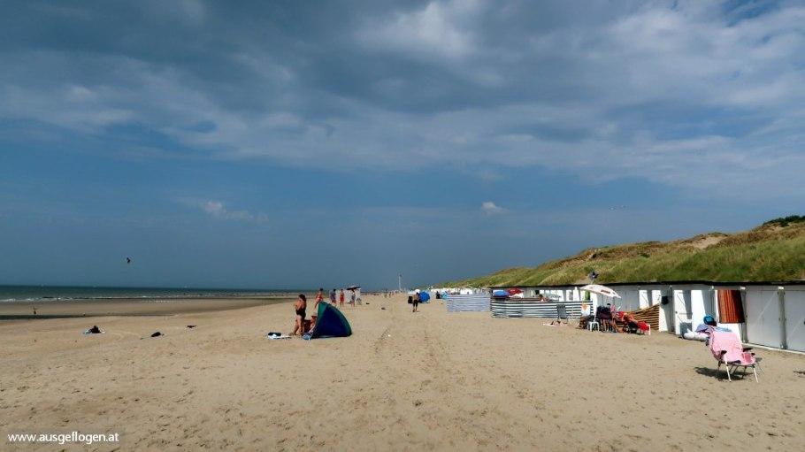 belgische Küste Strandbad