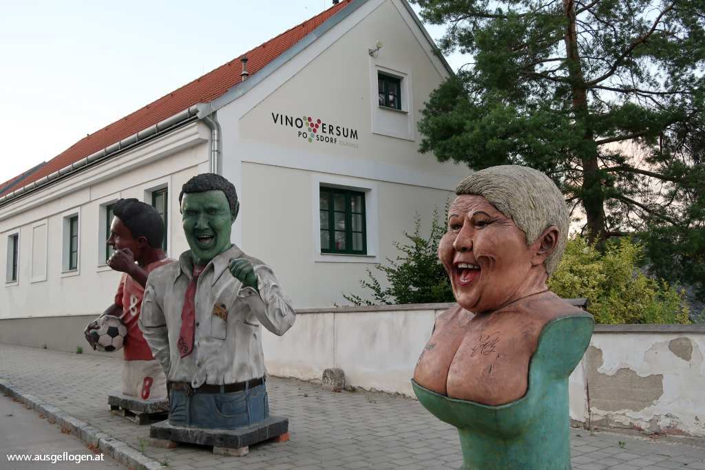 Poysdorf Ausflug Messinger Figuren