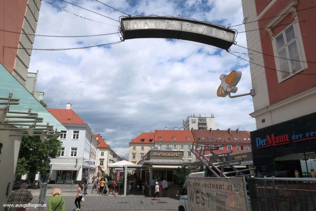 Wiener Neustadt Fußgängerzone