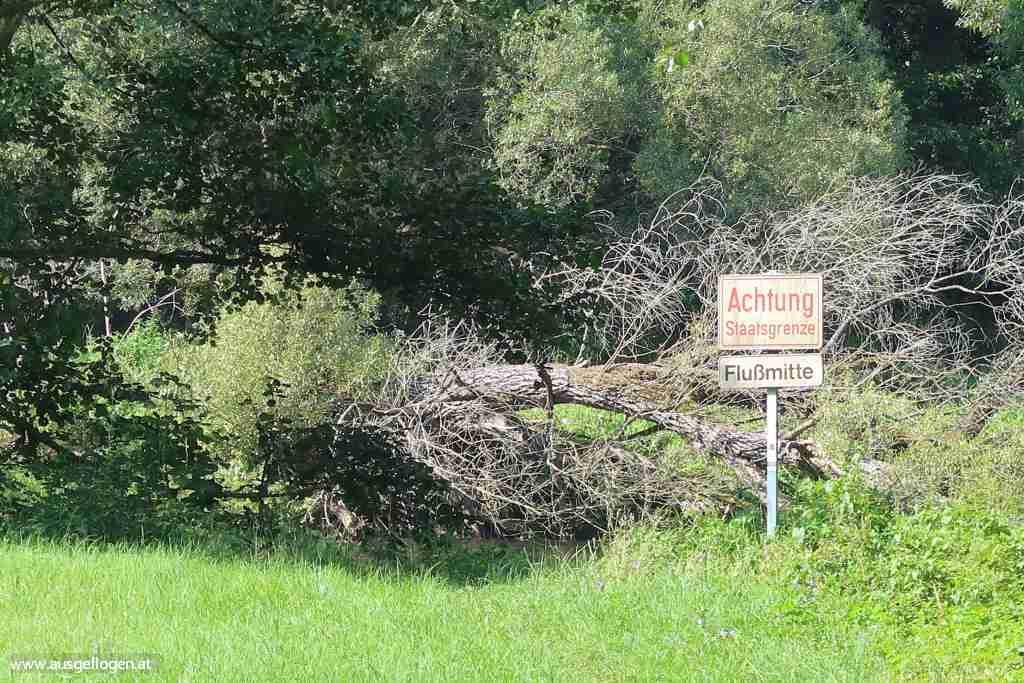 Nationalpark Thayatal Grenze Tschechien