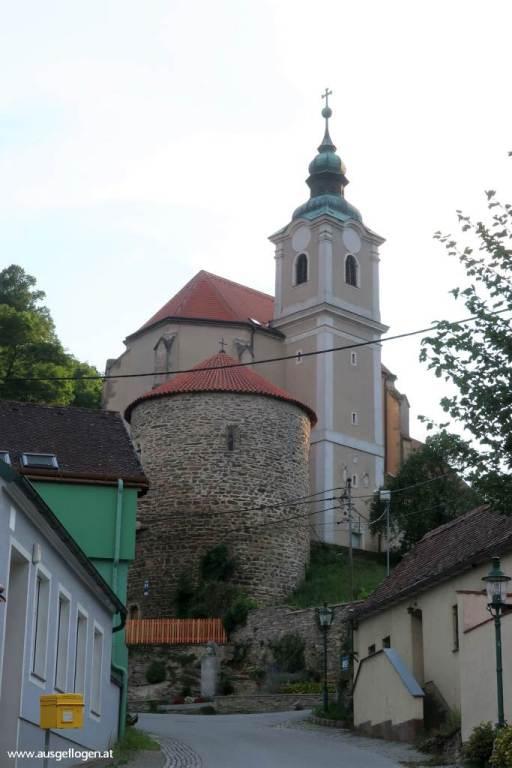 Hardegg Sehenswürdigkeit Kirche Karner