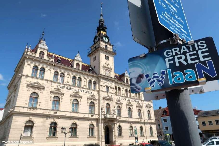 Laa/Thaya Hauptplatz Historismus