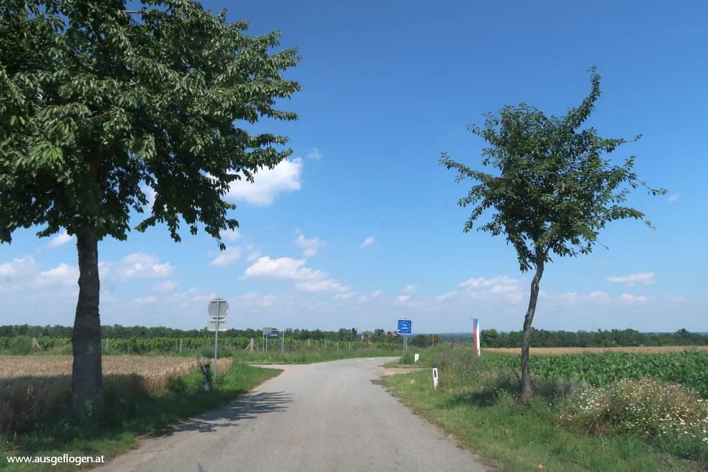 Grenzübergang Zwingendorf Schatzberg