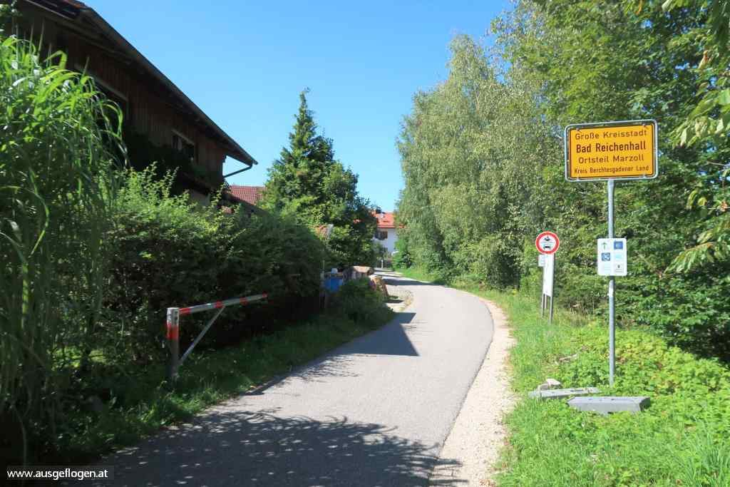 Grenzübergang Salzburg Großgmain Marzoll