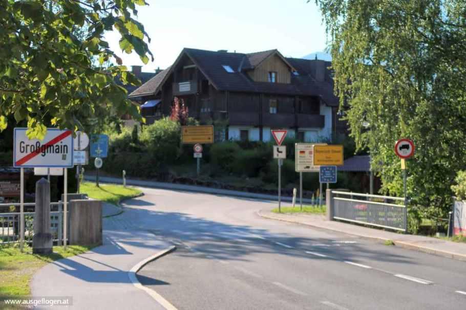 Grenzübergang Salzburg Großgmain Bayerisch Gmain