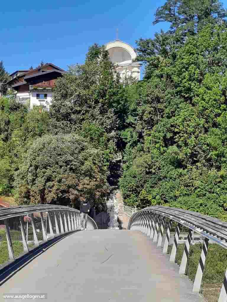 Oberndorf Laufen Europasteg Staatsgrenze Salzburg Umland