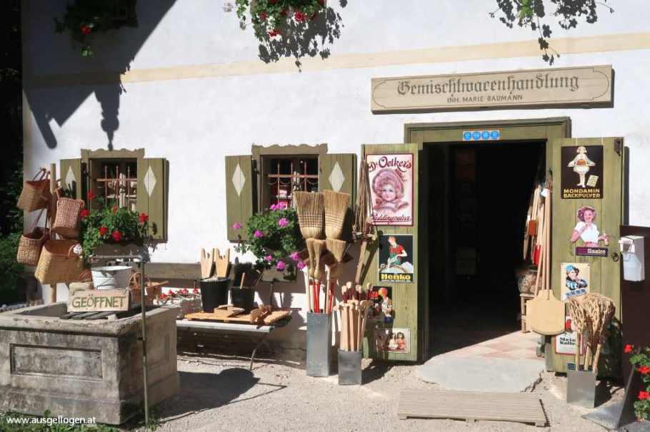 Salzburger Freilichtmuseum Salzburg Umgebung Ausflugsziel
