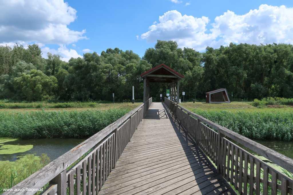 Brücke von Andau Grenze Burgenland Ungarn