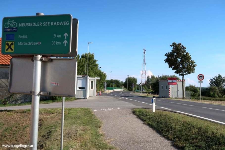 Grenzübergang Pamhagen Fertöd