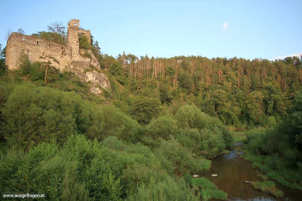 Thayatal Ruinen Burgen