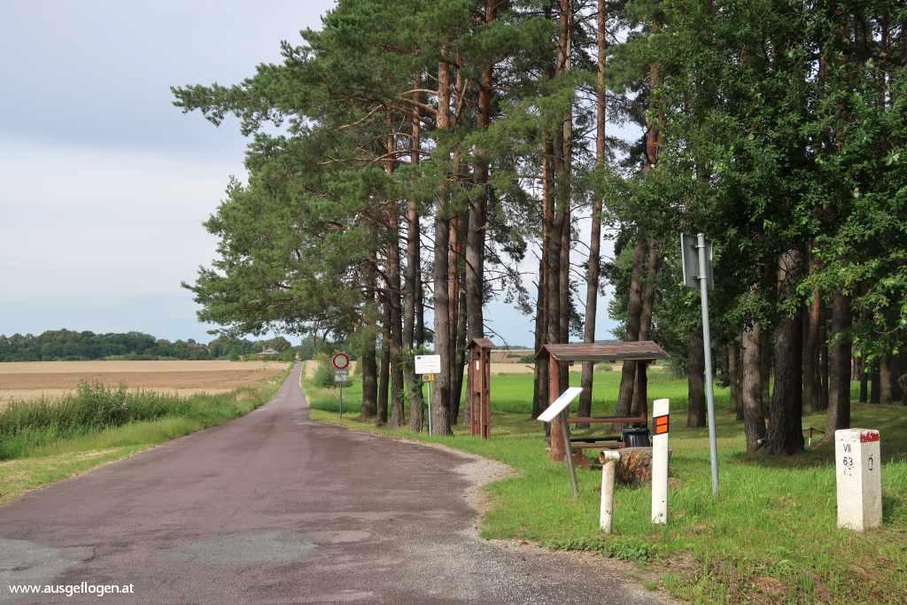 Langau Grenzübergang Marchstein