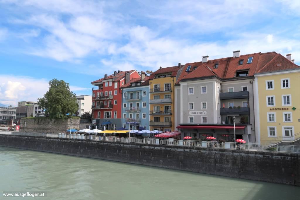 Kufstein Stadtspaziergang Inn