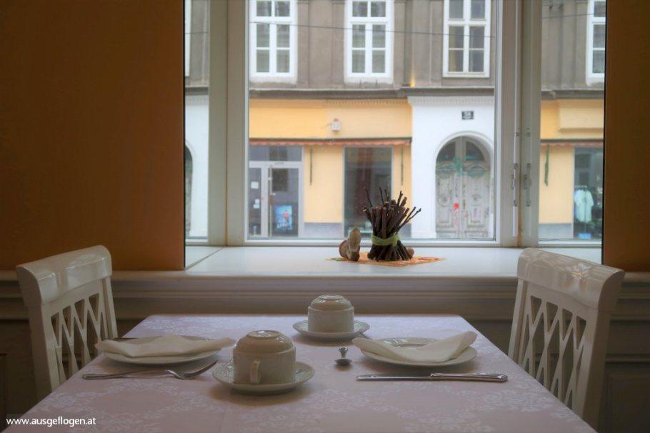 Frühstücksraum zentrumsnah Hotel Kugel Romantikhotel Wien