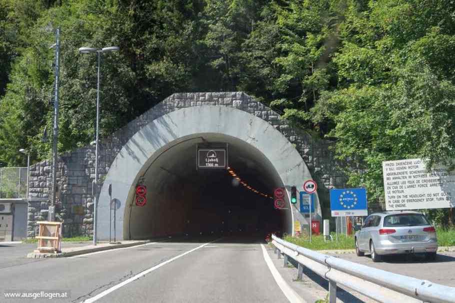 Loiblpass Tunnel Karawanken