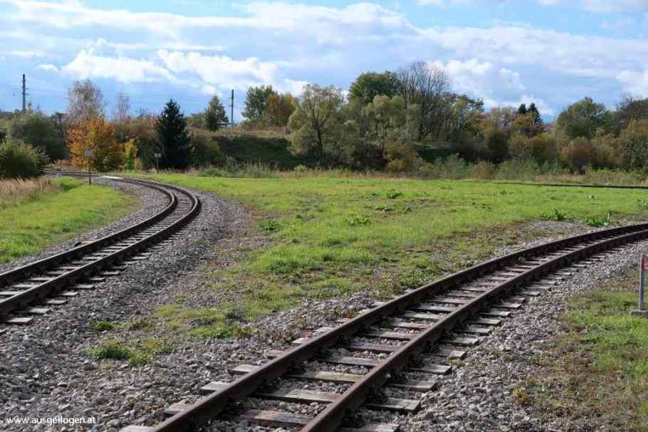 Gleisdreieck Waldviertelbahn