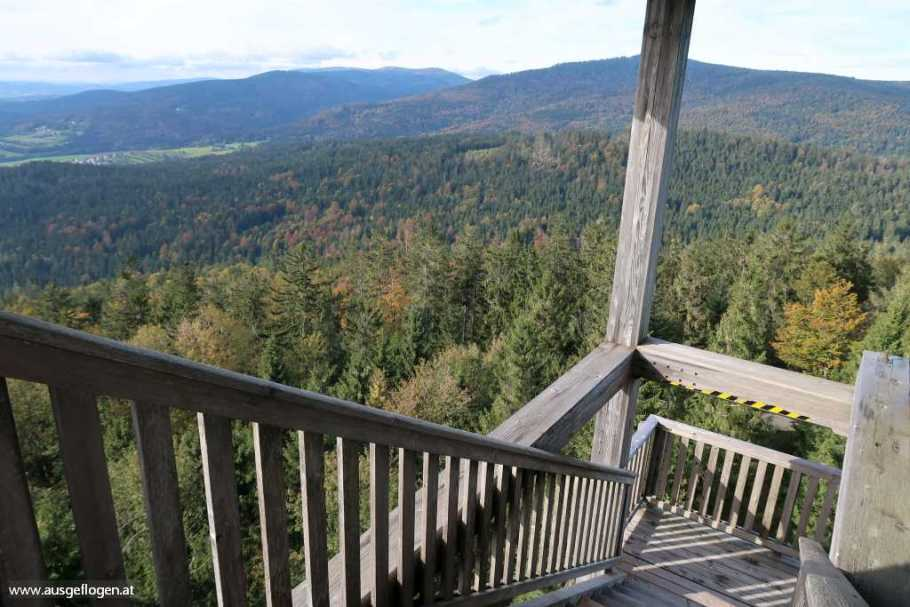 Böhmerwald Ausflugsziele Alpenblick Aussichtswarte