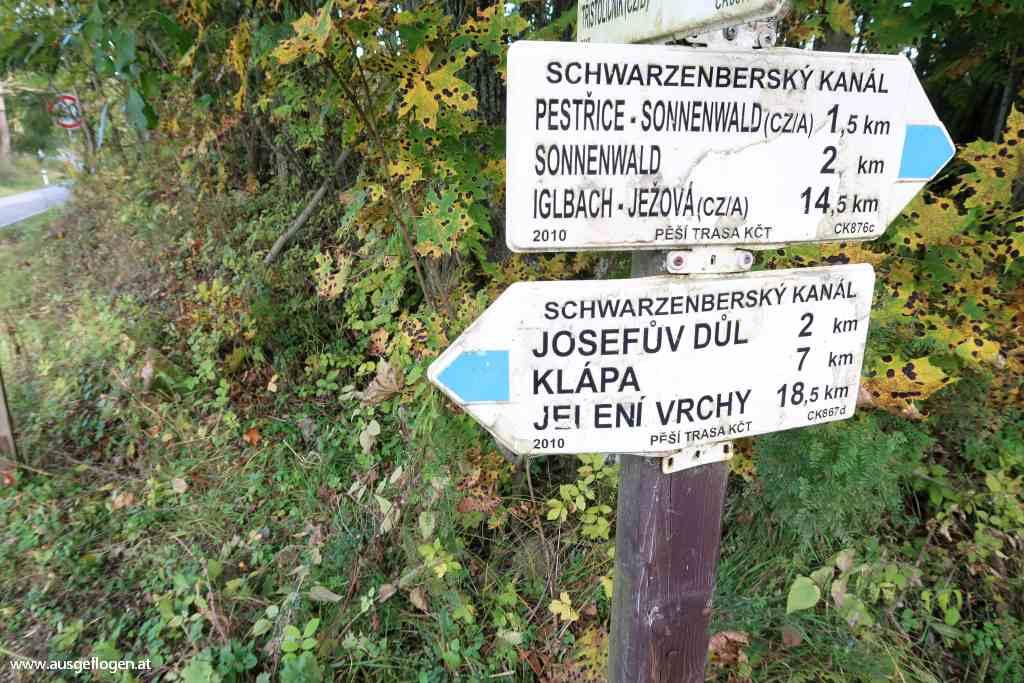 Schwarzenbergscher Schwemmkanal Böhmerwald