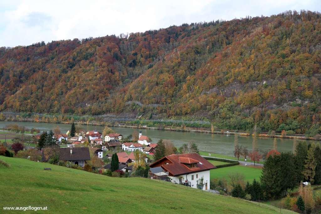 Sauwald Panoramablick Pyrawang bei Esternberg