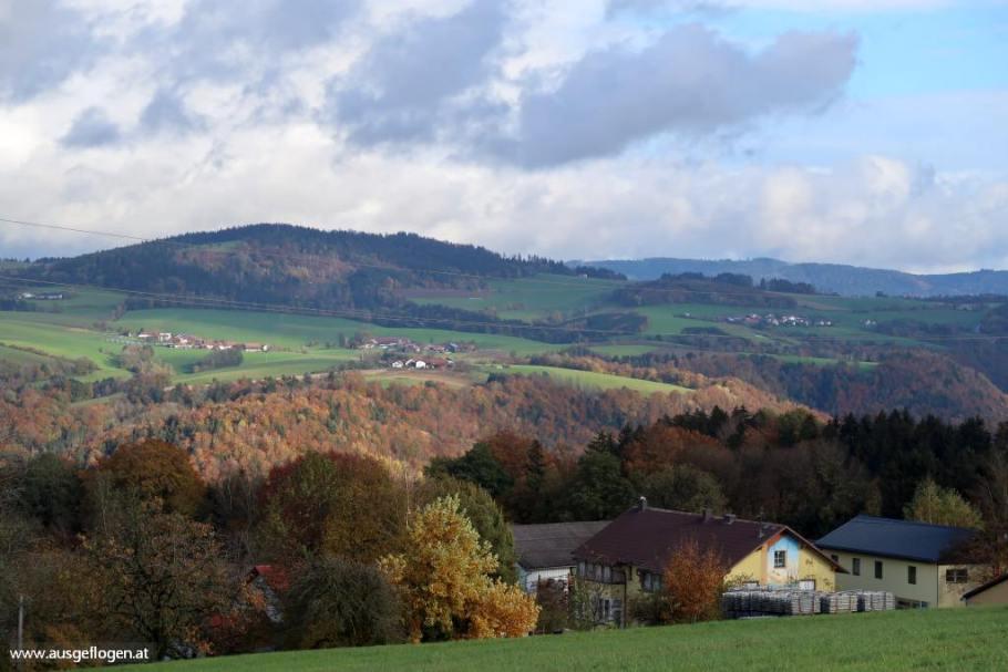 Sauwald Panoramablick Vichtenstein