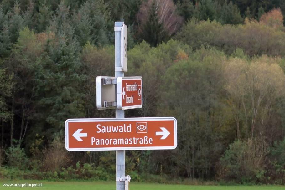 Sauwald Panoramastraße Donau Oberösterreich