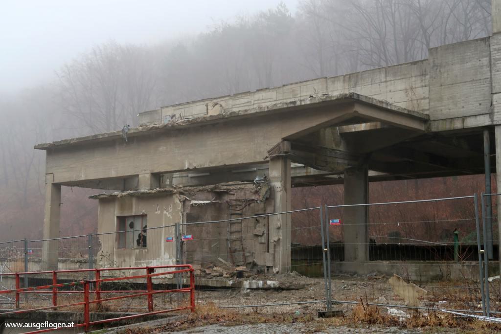 aufgelassene Perlmooser Zementfabrik Kaltenleutgeben