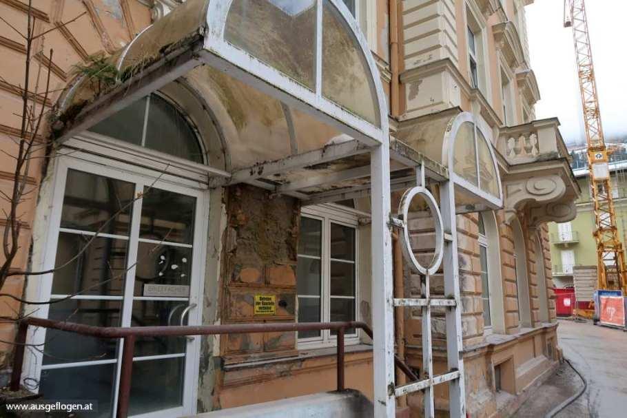 Bad Gastein Salzburg Hotels verfallen