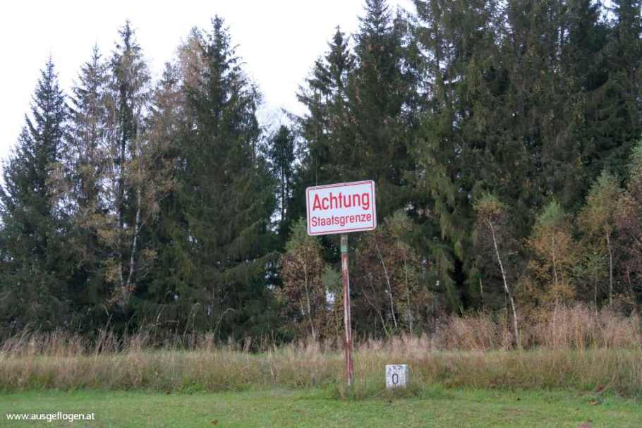 Mühlviertel Ausflugsziele Grenzübergang Guglwald