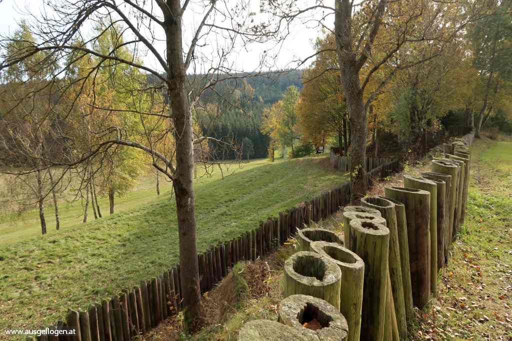 Mühlviertel Ausflugsziele Bad Leonfelden Schwedenschanze