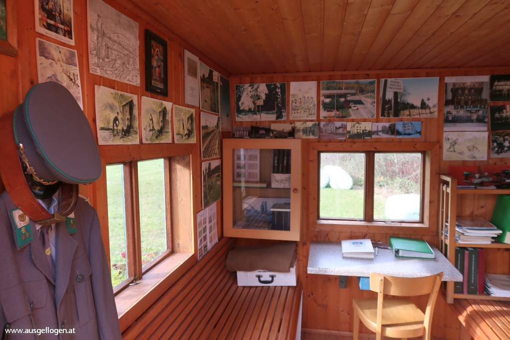 Zollwachhütte an der Maltsch in Hammern Museum